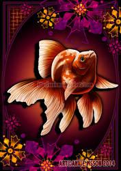 Ryukin Goldfish by AnnieMsson