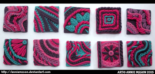 Polymer Clay Inchies