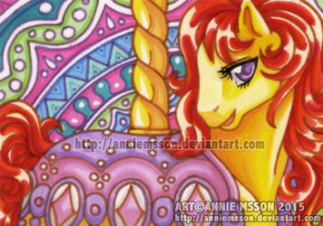 ACEO Diamond Dreams by AnnieMsson