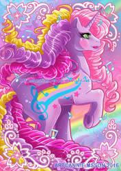 My Little Pony Rainbow Curl - Streaky