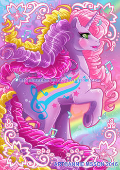 My Little Pony Rainbow Curl - Streaky