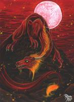 Fire Dragon by AnnieMsson