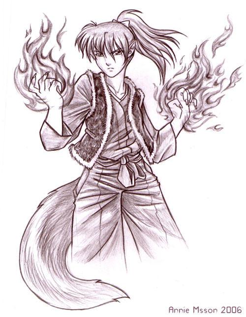 Fox Fire by AnnieMsson