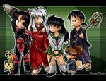 Weird Chibi IY group