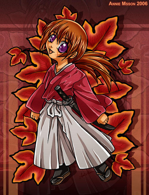 Chibi Kenshin by AnnieMsson