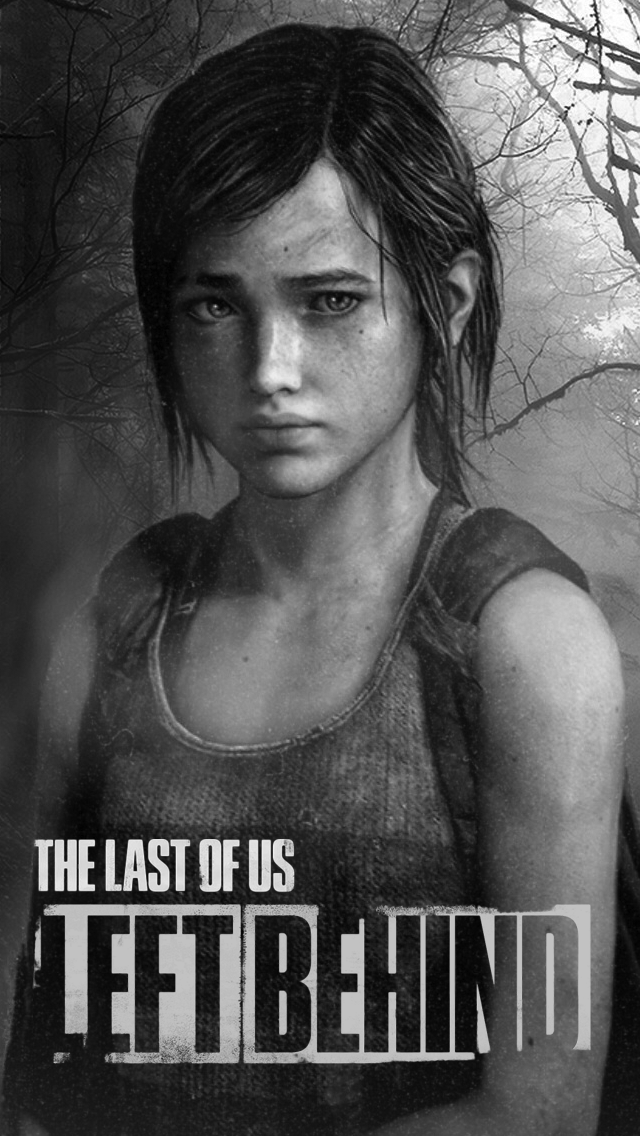 The Last Of Us Left Behind Ellie Ios Wallpaper By