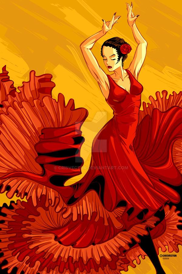 Flamenco by CrisVector
