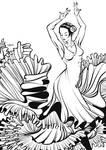 Flamenco linework