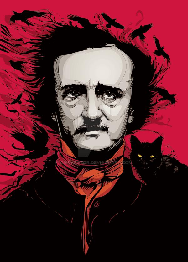 Edgar Allan Poe by CrisVector