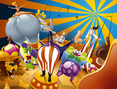 Circus by CrisVector