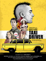 Taxi Driver - Alternative Poster