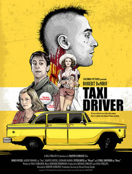 Taxi Driver - Alternative Poster