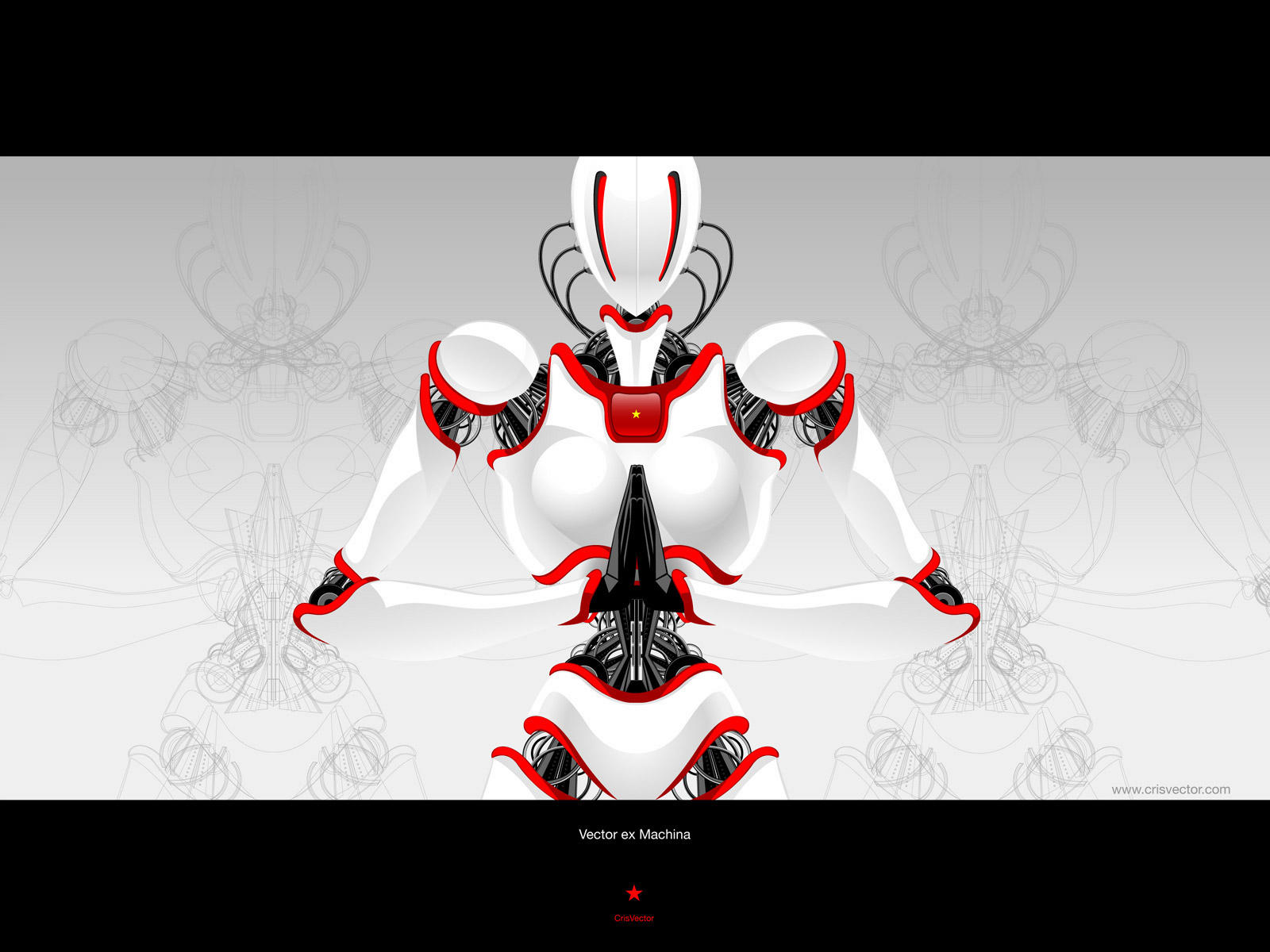 Vector Ex Machina by CrisVector