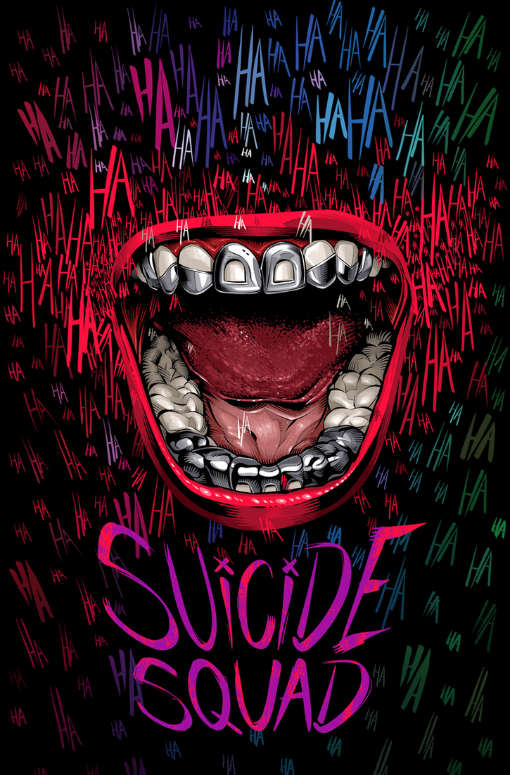 Suicide Squad - Alternative Movie Poster by CrisVector