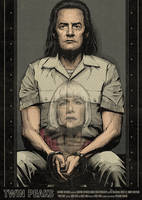 Twin Peaks Poster - Season 3 Episode 7 by CrisVector