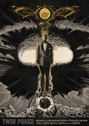 Twin Peaks Poster - Season 3 Episode 8