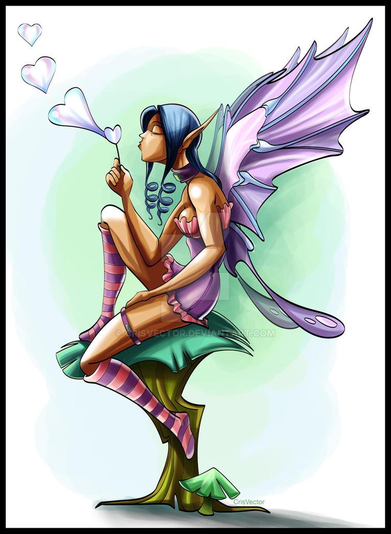 Fairy by CrisVector
