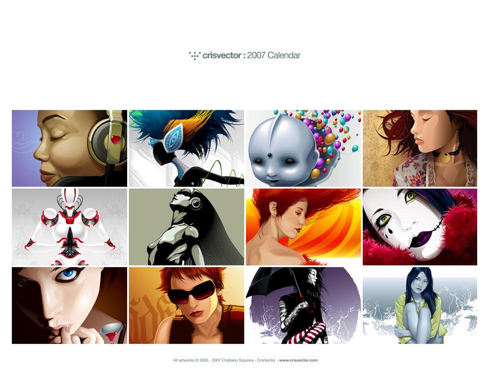 CrisVector 2007 Calendar by CrisVector