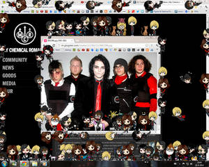MCR Shimeji full pack for Windows 7 and XP