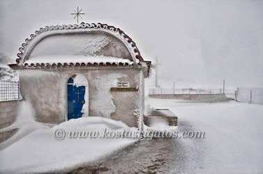 Mount Ainos Kefalonia Greece by anonymosp28