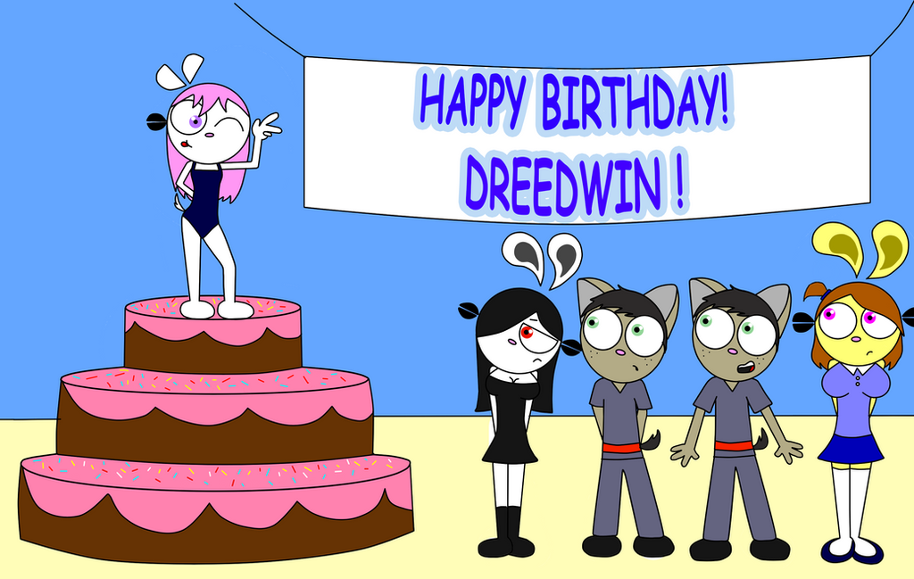 Happy Birthday Dreedwin by lester78