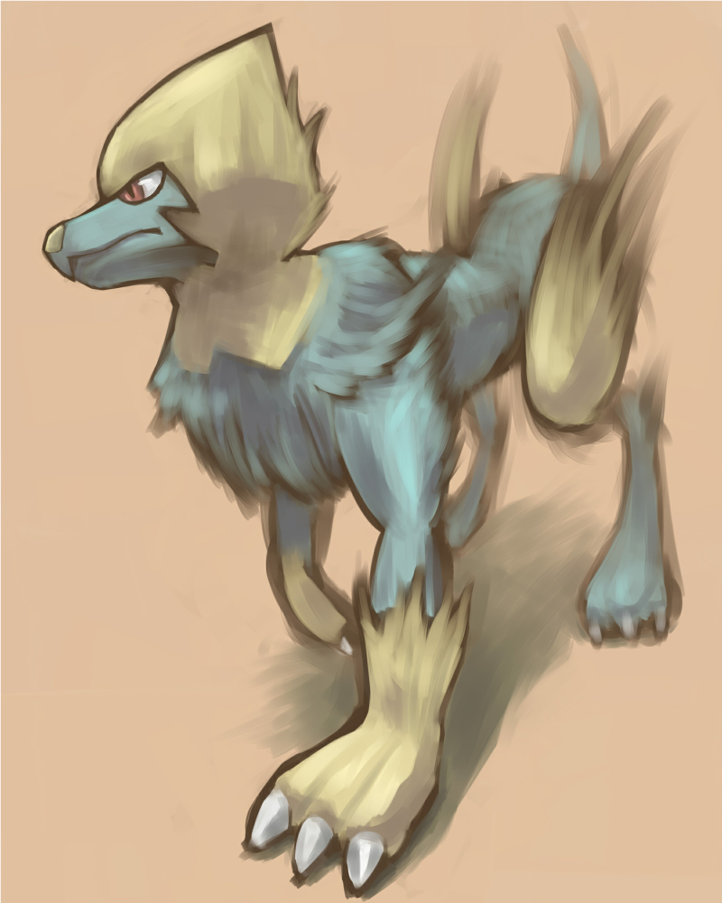 Manectric by doghiko