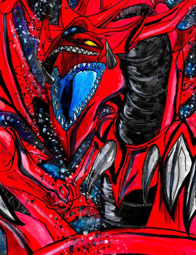 Slifer the sky dragon by Atempharaon