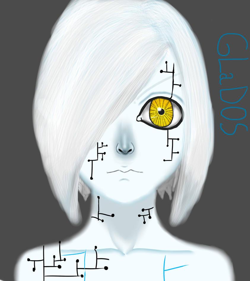 Human Form : GLaDOS by KuroKagamiImeji on DeviantArt