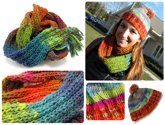 Knitty Crafty Scarf Hat Combo by SaltyMoose on deviantART