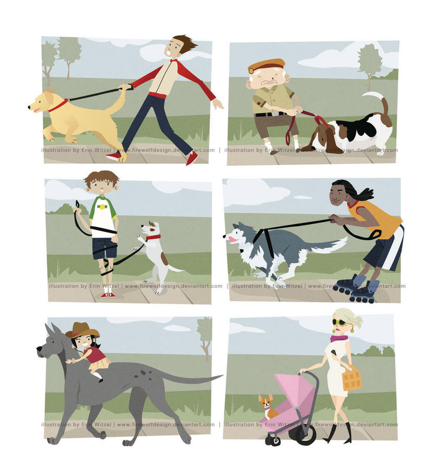 How to Walk a Dog by erinwitzel
