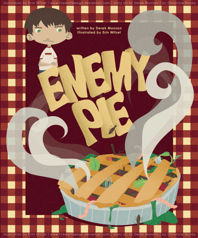 Enemy Pie: Cover by erinwitzel
