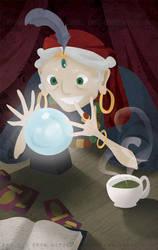 Gaze into my Crystal Ball... by erinwitzel
