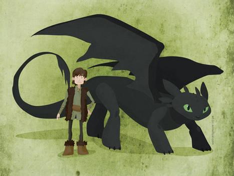 HTTYD: Boy and Dragon