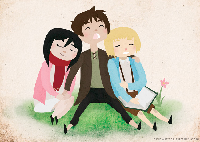 Shiganshina Kids by erinwitzel