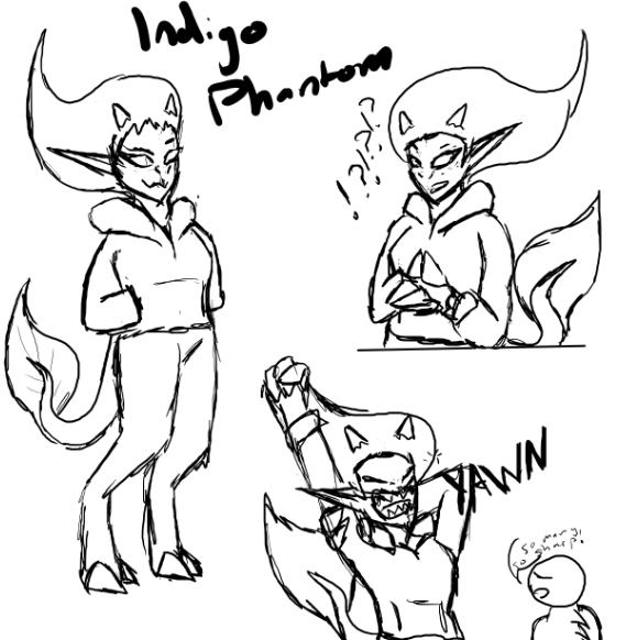 Indigo Phantom ref sheet