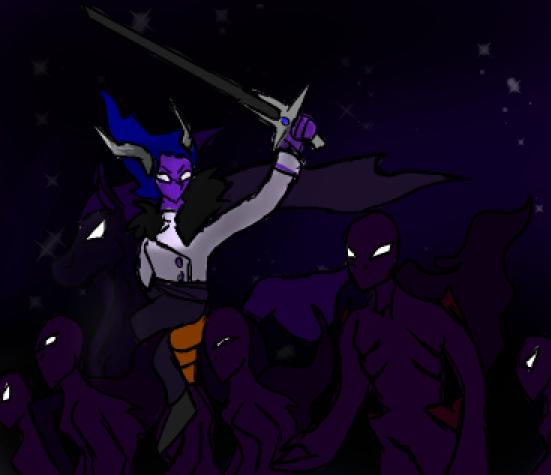 War on the overworld!