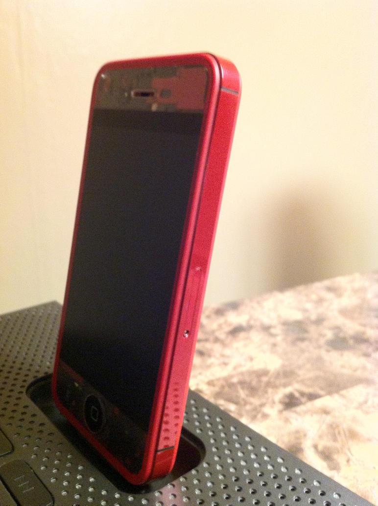 Telus Iphone  Red