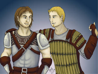 Best bros of Ferelden by TenshiOfLight
