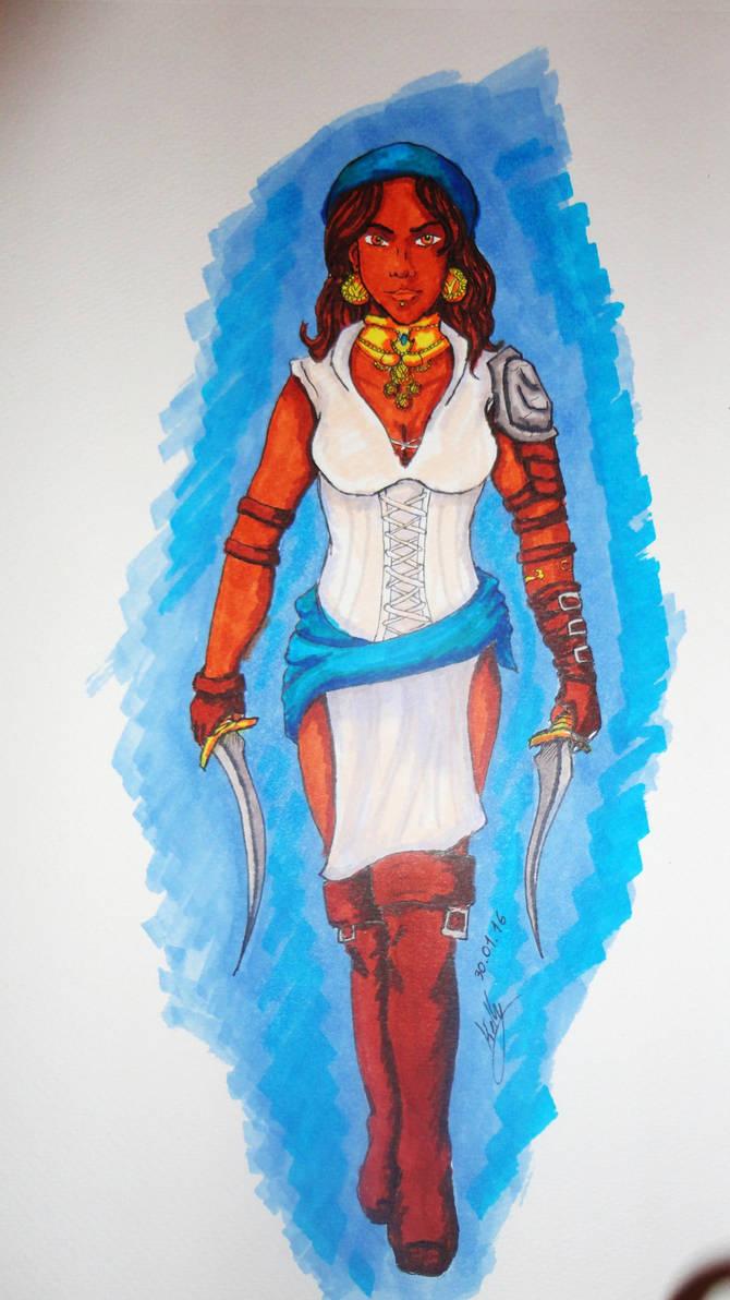 Pirate Queen Isabela