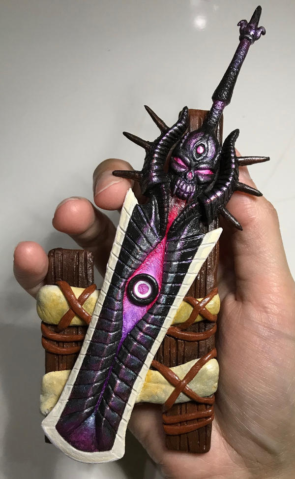 Verhangnisstolz Gore Magala Greatsword Mh4u By Palicolaite On