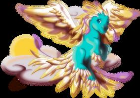My Little Pegasus by LadyRosse