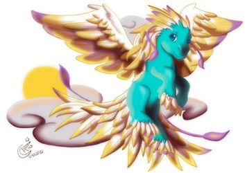 My Little Pegasus by LadyRosse