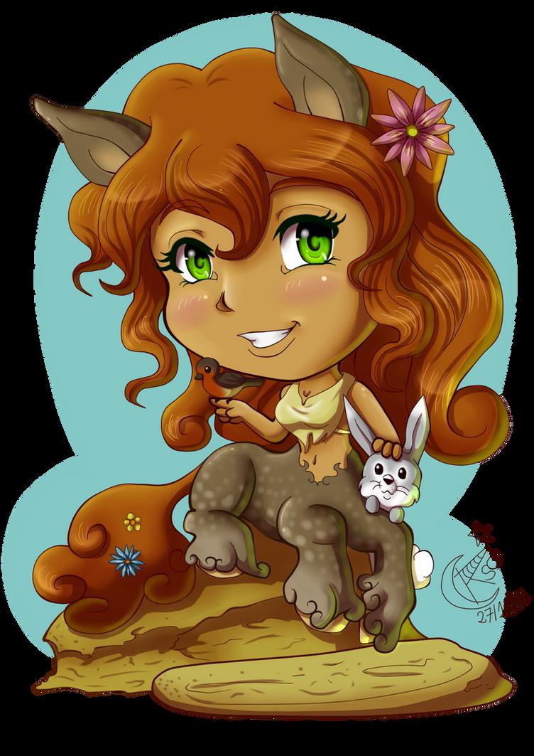 My Little Centaur by LadyRosse