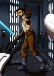 Request - Jedi Knight by LadyRosse