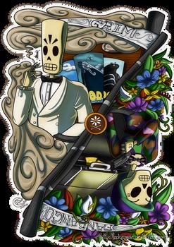 Fan Art - Grim Fandango