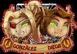 PCM - Gonzalez and Diego by LadyRosse