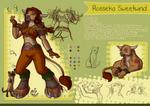 Character Sheet - Rosseka
