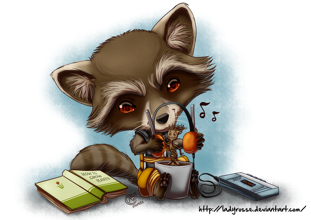 groot and rocket relationship questions