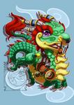 Chibi Mount - Jade Cloud Serpent