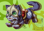 Chibi Mount - Orgrimmar Wolf